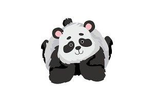 Cute Baby Panda Bear, Funny Lovely