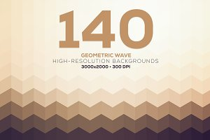Geometric Wave - Background Pack