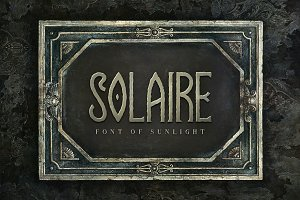 Solaire Typeface