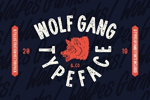 Wolf Gang - Vintage Typeface