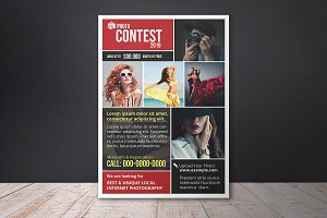 Photo Contest Flyer Template - V01