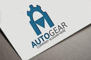 Auto Gear/ A Letter Logo
