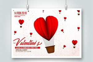 Valentine's Day Love Flyer Templates