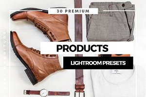 Perfect Products Lightroom Presets