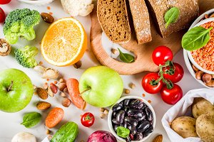 Good carbohydrate fiber rich food