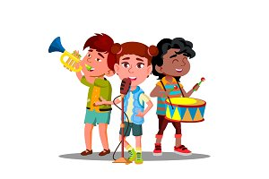Children Ensemble. Children Play