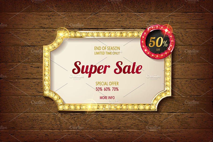 3a0964ecaf Big discount frames ~ Graphics ~ Creative Market