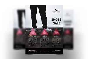 Women Shoes Flyer