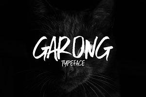 Garong Typeface