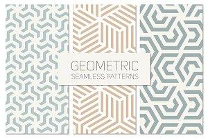 Geometric Seamless Patterns Set 4