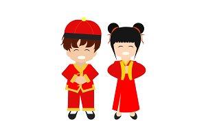 Happy Kids Chinese New Year