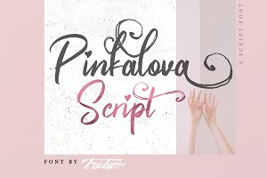 Pinkalova - Handwritting Script Font