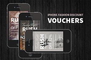 iPhone Fashion Discount Voucher