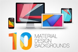 10 Material Design Backgrounds