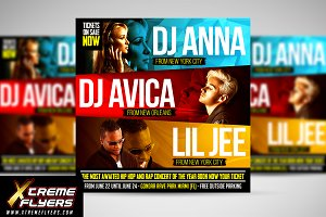 DJ Concert Battle Flyer