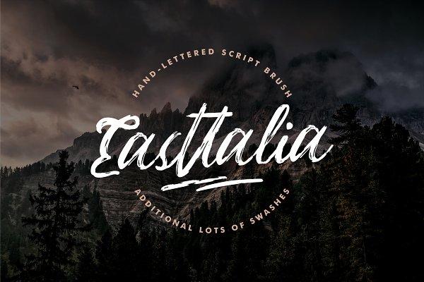 Easttalia - Handdrawn Script