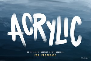Acrylic for Procreate