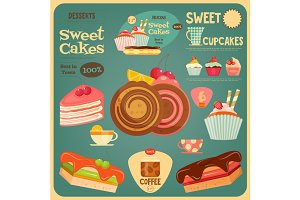 Sweet Cakes Card