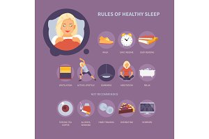 Insomnia and healthy sleep