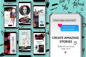 Instagram Stories: Beauty Blog