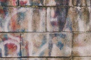Subtle Graffiti on Brick