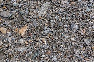 Stones on ground