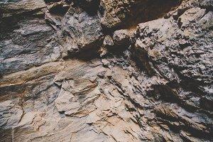 Dramatic Rock Wall Texture