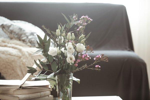 Arts & Entertainment Stock Photos - Cozy home interior living room