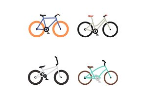 Bike Icon Set