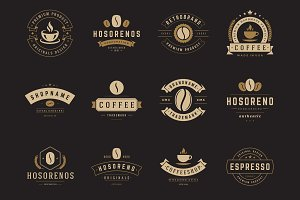 16 Coffee Logotypes and Badges