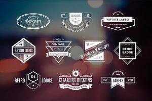 10 Retro Logos Vol. 17