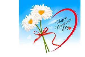 Valentine's Day background. Vector