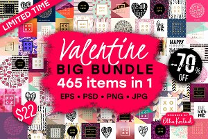 70% OFF Valentine Bundle