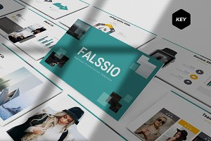 Falssio - Keynote Template