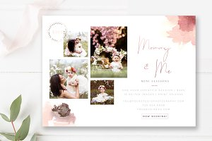 Mommy & Me Minis Marketing Templates