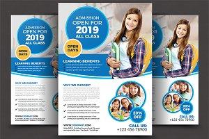 Junior School Education Flyer