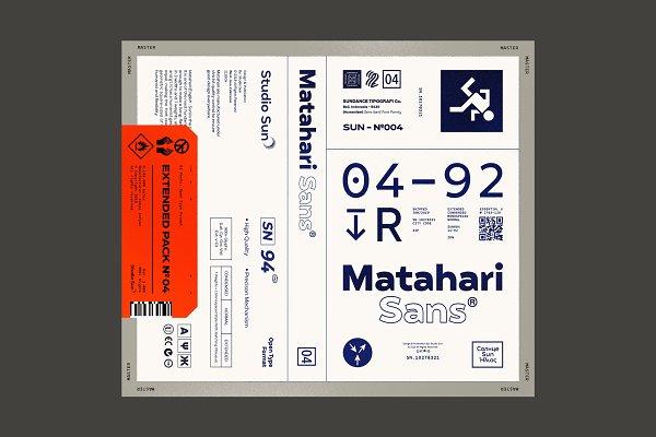 Fonts: Studio Sun - 75% off Matahari Sans - Font Family