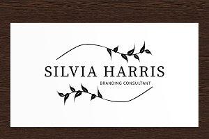 Silvia Harris Consultant Logo - PSD
