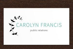 Carolyn Francis PR Logo - PSD
