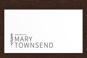 Mary Townsend Photography Logo PSD