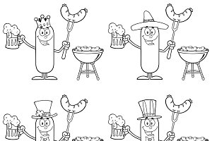 Sausage Character Collection Set - 7
