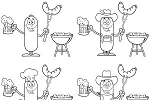 Sausage Character Collection Set - 3