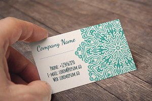 Set of 14 business cards