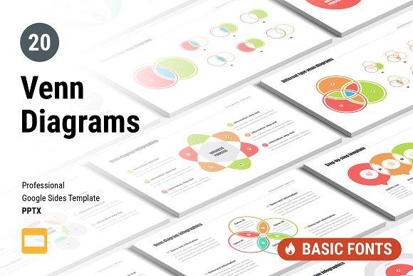 Venn Diagrams Pack For Google Slides
