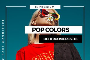 Pop colors lightroom presets