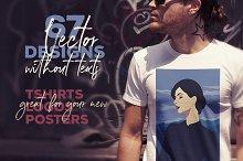 67 T-shirt Vector Designs
