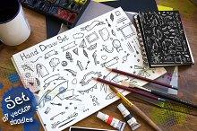 Set of vector doodles