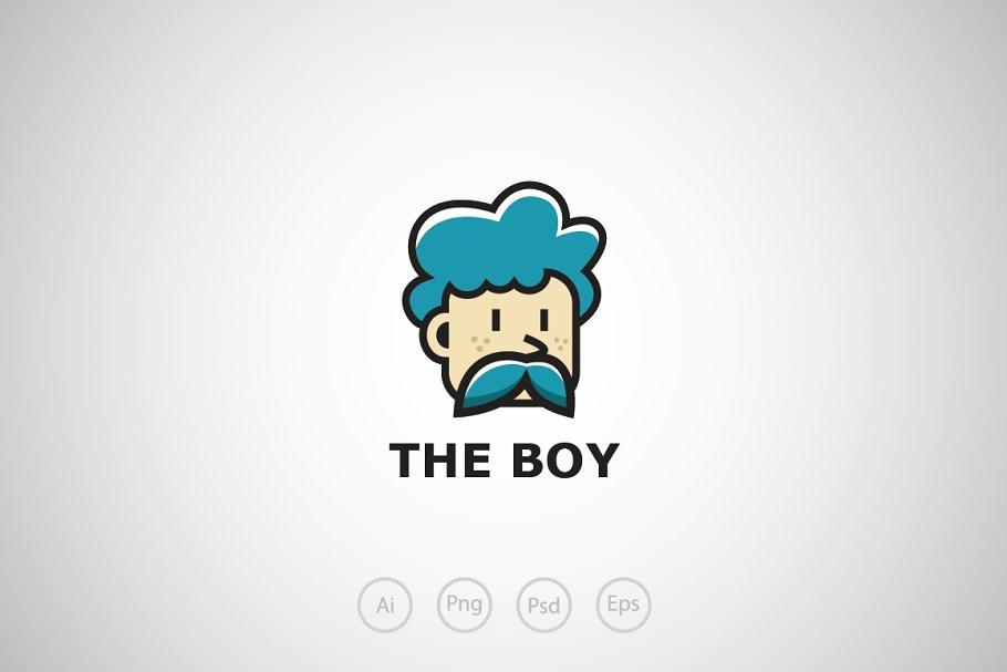 41856dc3fb1 Old Boy Logo Template ~ Logo Templates ~ Creative Market