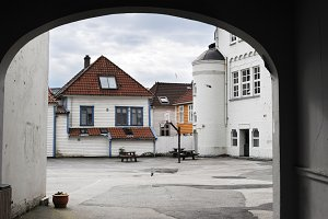 Old town of Bergen - Bryggen
