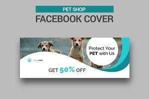 Pet Shop Facebook Cover